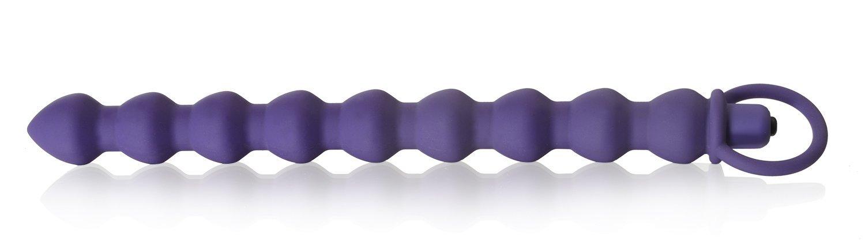 Deluxe Analkugeln mit Vibration (Purple)