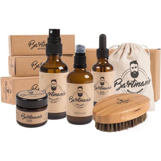 bartpflege set bartmanie inkl b rste shampoo. Black Bedroom Furniture Sets. Home Design Ideas