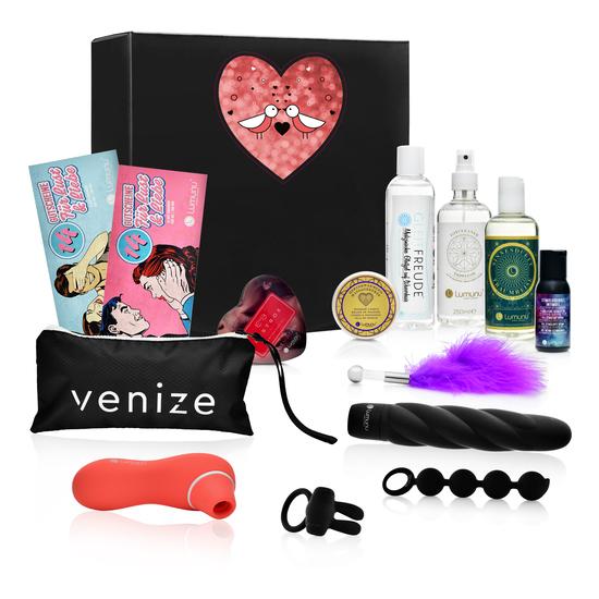 Deluxe Premium Valentins-Lustbox für Paare