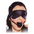FETISH FANTASY - Blindfold Ball Gag (black)