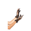 Lace wrist length Ruffle Gloves (one size)