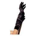 Wrist Length Satin Gloves