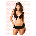 Flirty Lace Top & G-String (O/S)