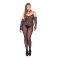 Bodystocking with Gloves (Plus Si)