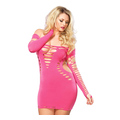 Mini Dress Pink (plus size)
