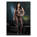 Lace Up Front Bodystocking (plus size)