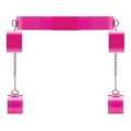 Pink Translucent Bondage Belt with Velcro