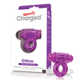 The Screaming O - Charged OWow Vibe Ring Purple