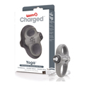 The Screaming O - Charged Yoga Vibe Ring Grey