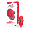 The Screaming O - Charged Yoga Vibe Ring Red