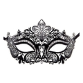 Princess Masquerade Mask - Black