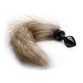 Fox Tail Buttplug - Black