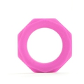 Shots Toys Octagon Ring (Pink)