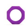 Shots Toys Octagon Ring (Purple)