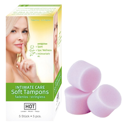 HOT INTIMATE CARE Soft Tampons (5 Stk.)