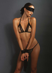 4Pc. Chain Lingerie Set