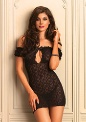 Lace Off The Shoulder Chemise