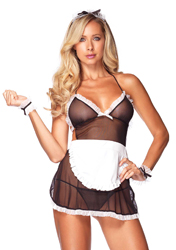 Roleplay Seductive French Maid