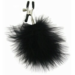 S&M - Feathered Nipple Clamps