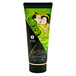 Shunga - Massage Cream Pear & Green Tea (200 ml)