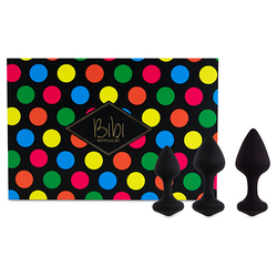 FeelzToys - Bibi Butt Plug Set 3-teilig (Black)