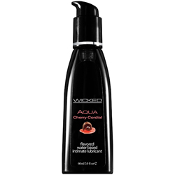 Wicked - Aqua Cherry Cordial Waterbased Lubricant