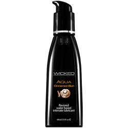 Wicked - Aqua Cinnamon Bun Waterbased Lubricant