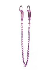 Helix Nipple Clamps Purple