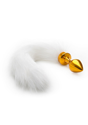 WhiteTail Buttplug - Gold