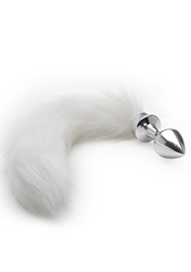 WhiteTail Buttplug - Silver