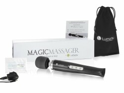 Deluxe Magic Wand Massager Sonderedition (Black)