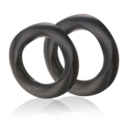 "Deluxe Silikon Cockring Set ""STEHFREUDE"""